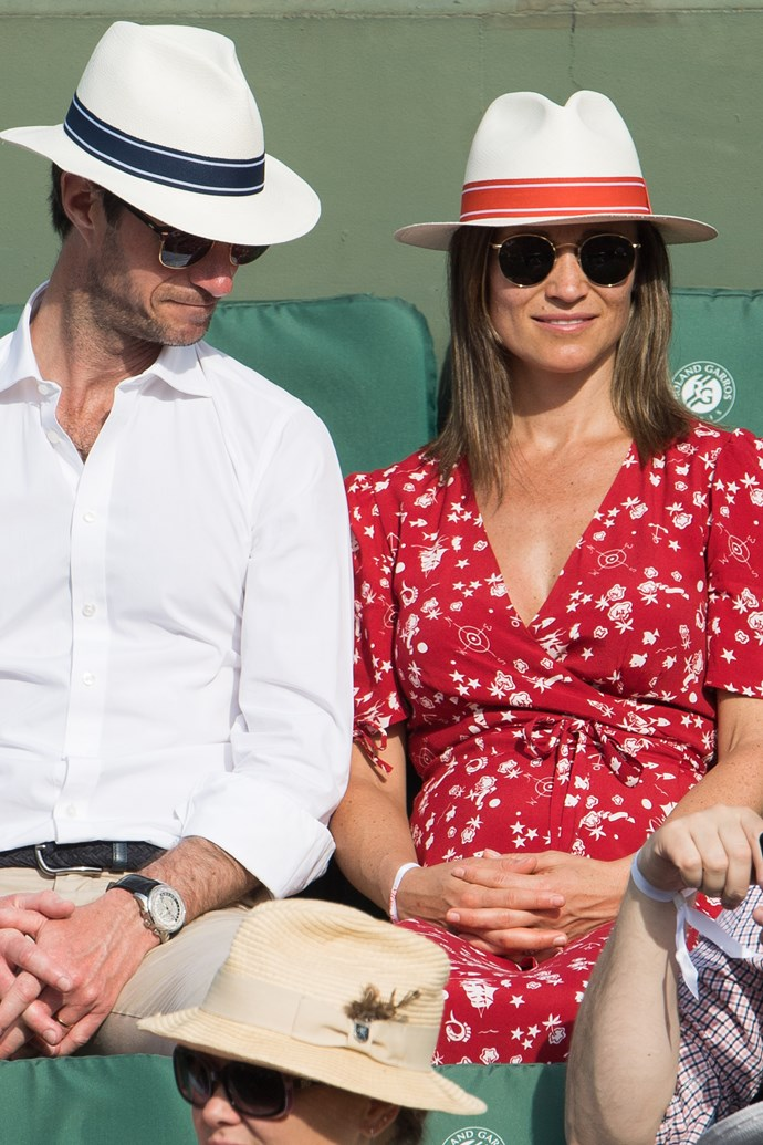 Duchess Catherine's younger sister is doing well after the birth of her son. *(Image: Getty)*