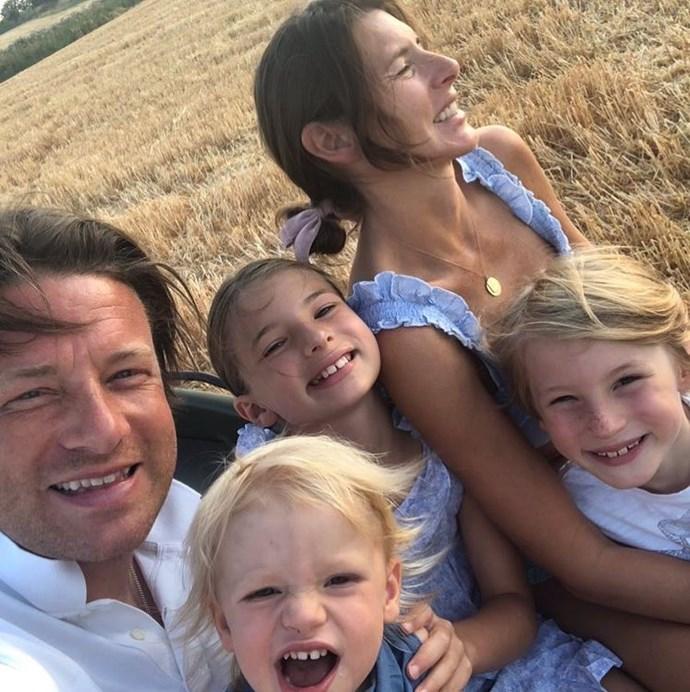 Jools and Jamie Oliver share five children together. *(Image: @joolsoliver Instagram)*