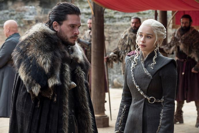 Kit Harington and Emilia Clarke hint *Game of Thrones* will leave fans divided.