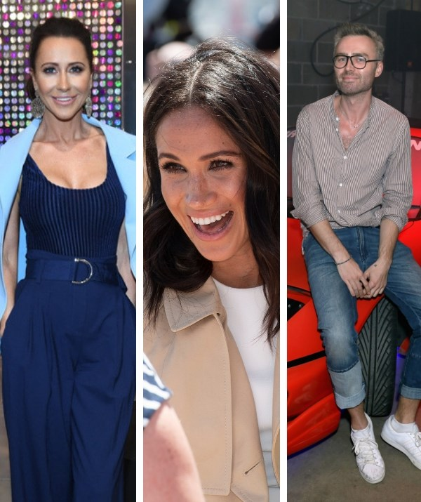 BFF Jessica Mulroney and London hair HRH George Northwood are two key members of the glam squad. *(Images: Getty)*