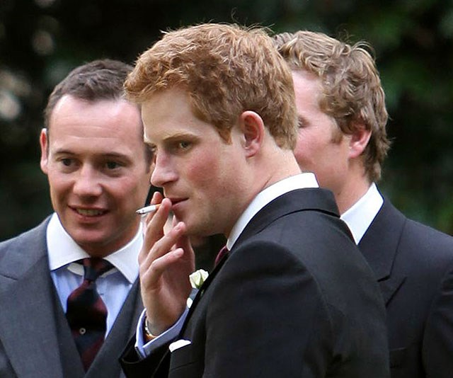 His dirty habit's gone up in smoke. *(Image: Rex by Shutterstock)*