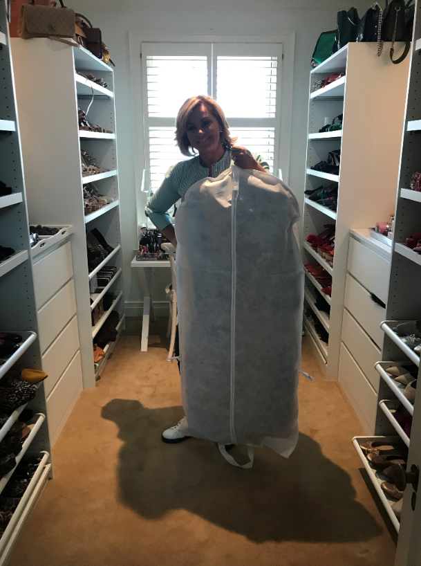 Chyka is donating 50 dresses, some of which she wore on *Real Housewives of Melbourne*. *(Image: Supplied)*