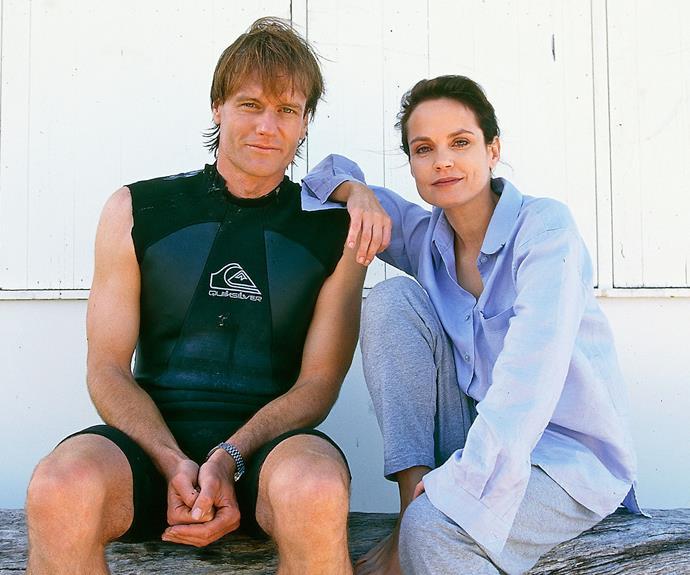 William McInnes and Sigrid in the original *SeaChange*