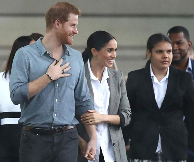 Meghan and Harry met with students from the The Girls Academy.