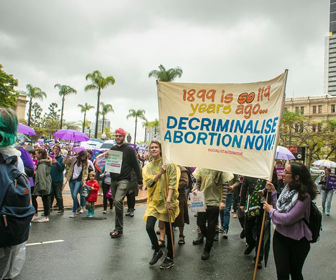 Abortion is no longer classed as a crime in Queensland. *(Image: AAP)*