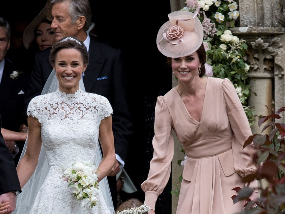 The sisters were each other's maid of honour at their weddings.