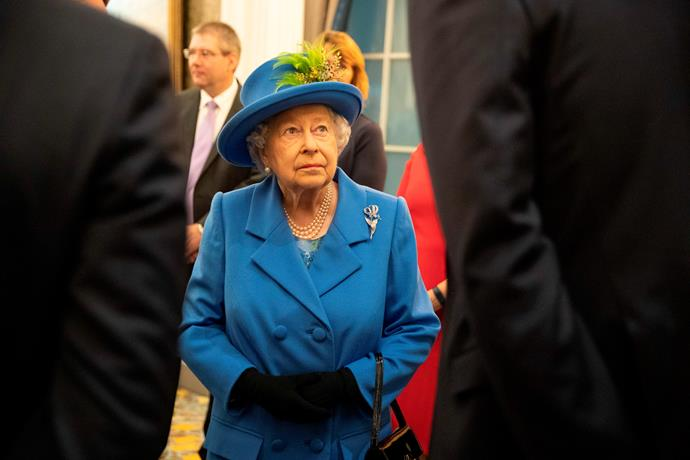 Queen Elizabeth attended the event to mark 100 years of the Royal Air Force Club *(Image: Getty Images)*