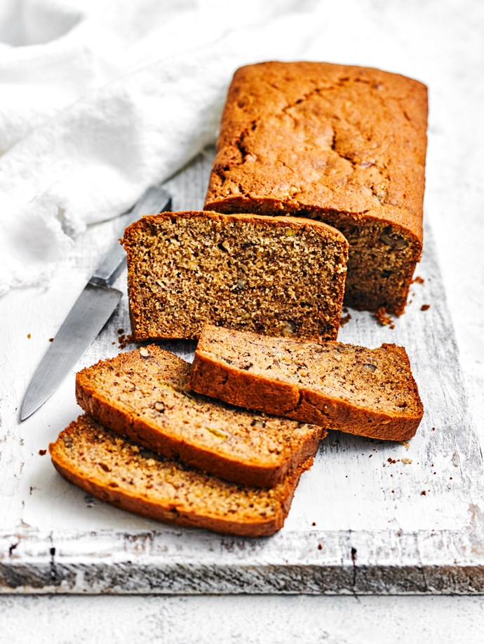 Banana bread fit for a Duchess! *(IMAGE CREDITS: Photography James Moffatt; Styling Olivia Blackmore and Kate Brown.)*
