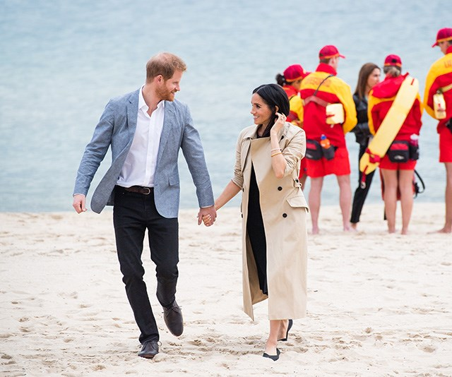 Hand in hand on South Melbourne beach. *(Image: Getty Images)*