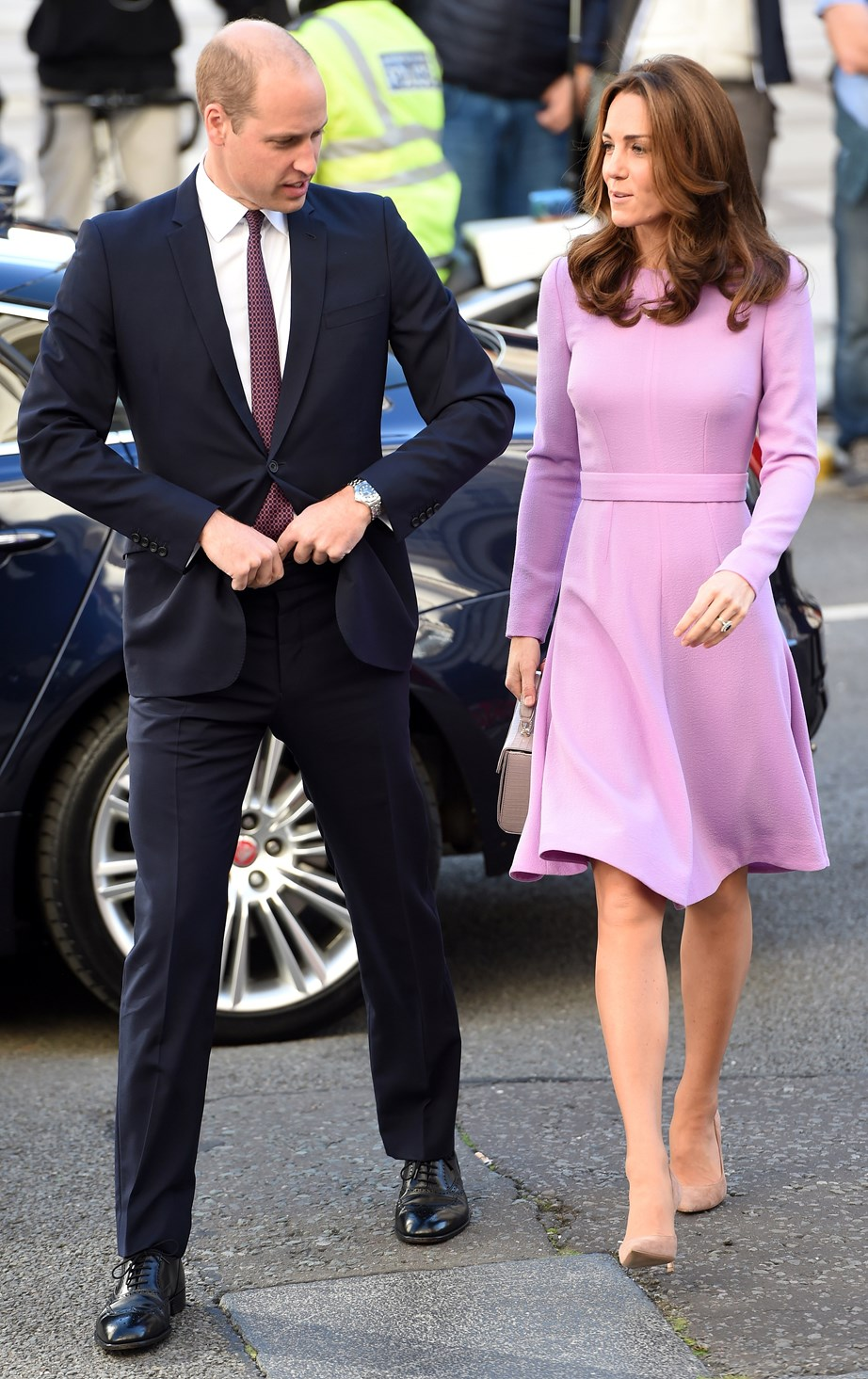 The royal parents-of-three hosted a surprise engagement at Kensington Palace.