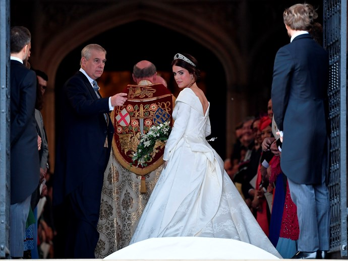 The sentiment behind Princess Eugenie's wedding goody bags have been revealed by her dad Prince Andrew. *(Image: Getty Images)*
