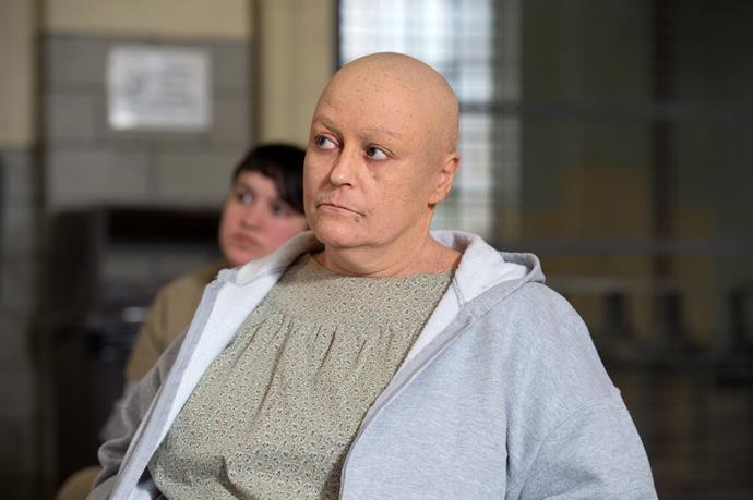 **ROSA GETS REVENGE OF VEE**  Vee wasn't anyone's favourite person at Litchfield for all she had done during her time. After making her escape from the prison in a van, Rosa spots Vee who has also made her escape, and proceeds to ram her down with the van, killing her instantly.