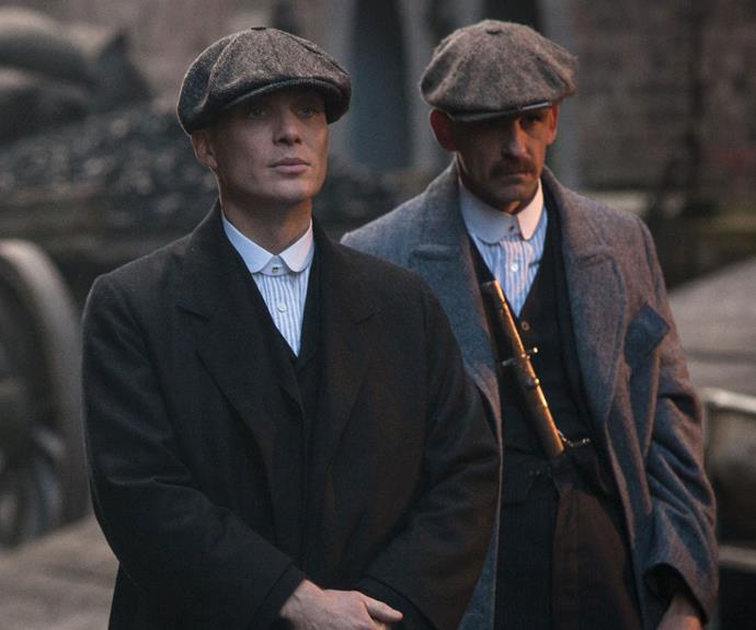 Cillian Murphy and Paul Anderson as the Shelby brothers.