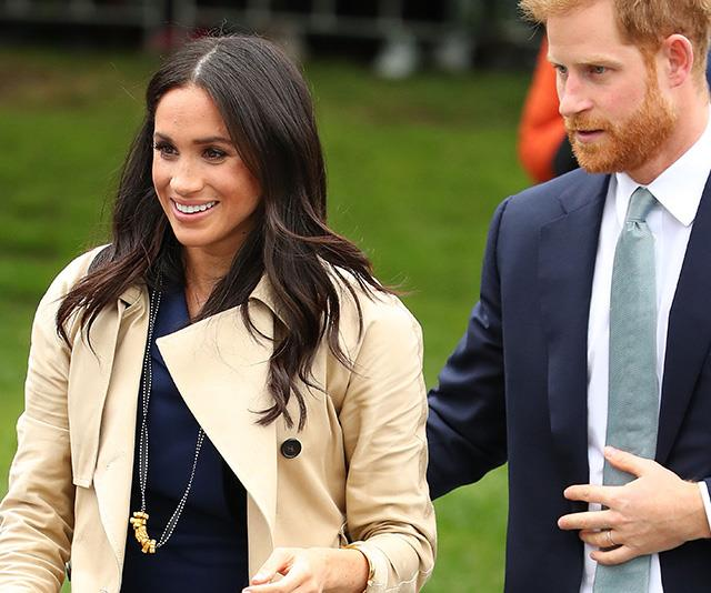 Meghan was spotted donning a new accessory while she met fans in Melbourne. *(Image: Getty Images)*