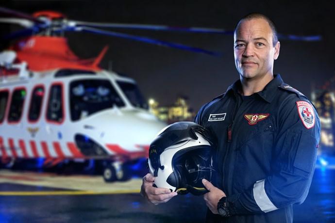 Flight paramedic Matt.