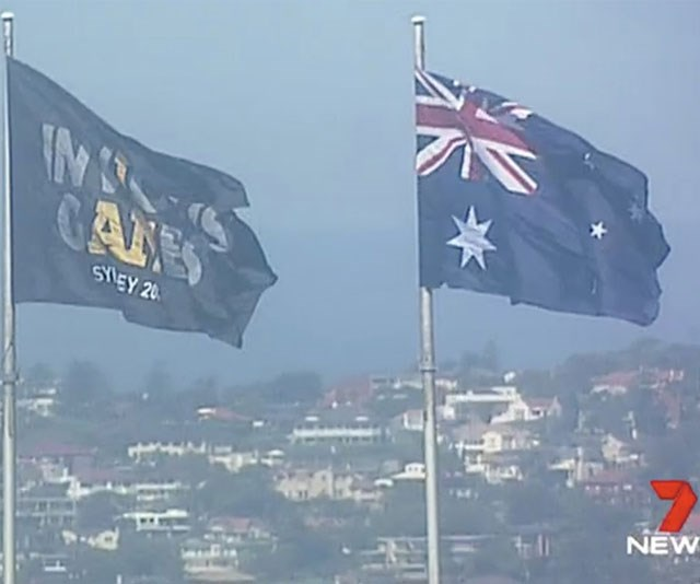 What an incredible sight! *(Image: 7 News)*