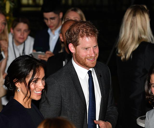 Harry and Meghan had a late night on Saturday attending the opening ceremony of the Invicitus Games. *(Image: Getty Images)*