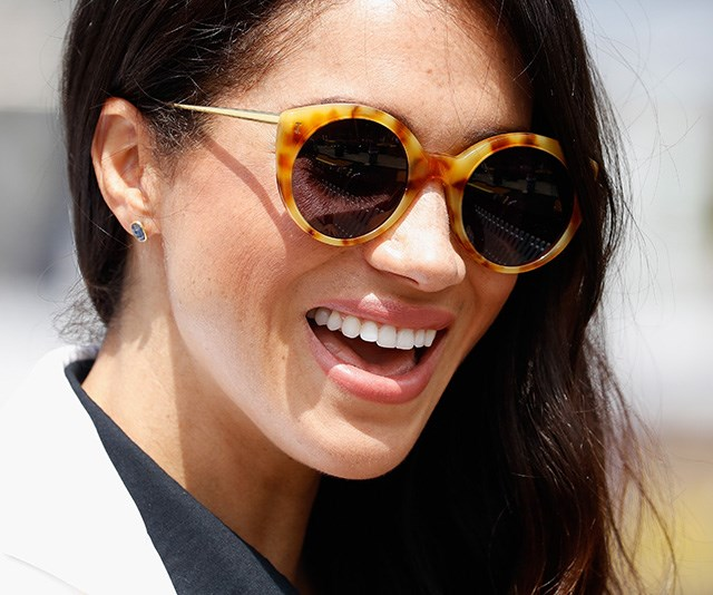 Her Illesteva tortoiseshell shades were also a necessary addition during the sunny event. *(Image: Getty Images)*
