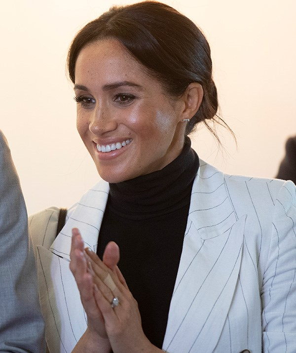 You'd never guess the Duchess was exhausted from all of the events on the royal tour - she looked amazing during the engagement held at The Domain in Sydney. *(Image: Getty Images)*