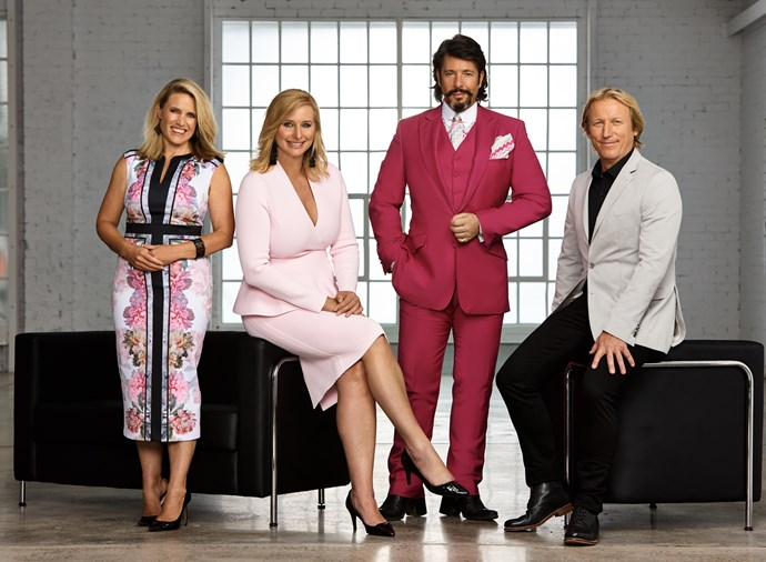 Wendy Moore, Johanna Griggs, Laurence Llewelyn-Bowen and Drew Heath.