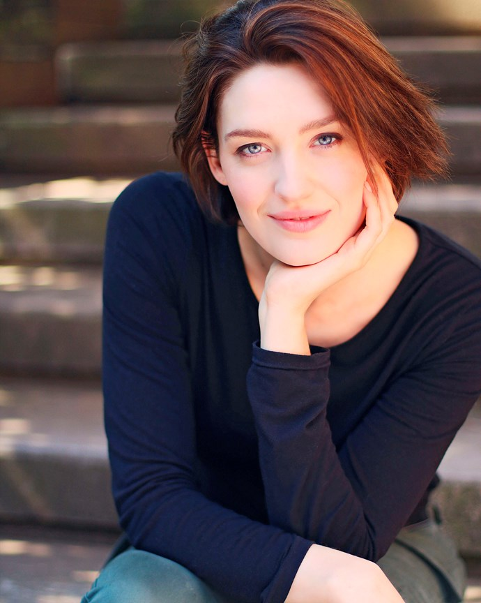 Tess Haubrich will play Sarah.