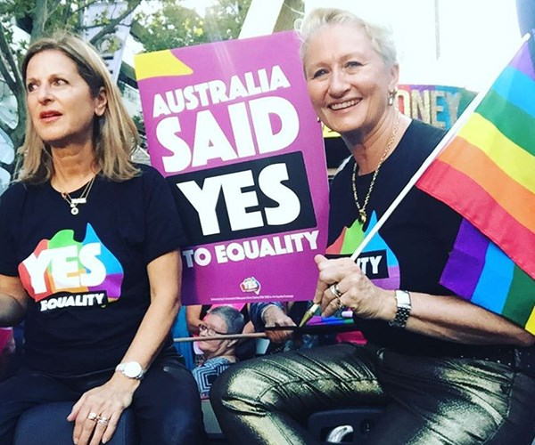 Kerryn and her wife Jackie have been together for 20 years *(Image: Instagram @drkerrynphelps)*