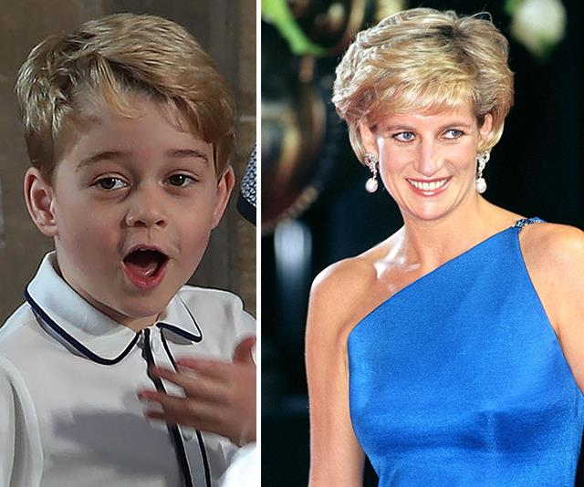 Prince George has inherited Princess Diana's twinkle toes. *(Image: Getty Images)*