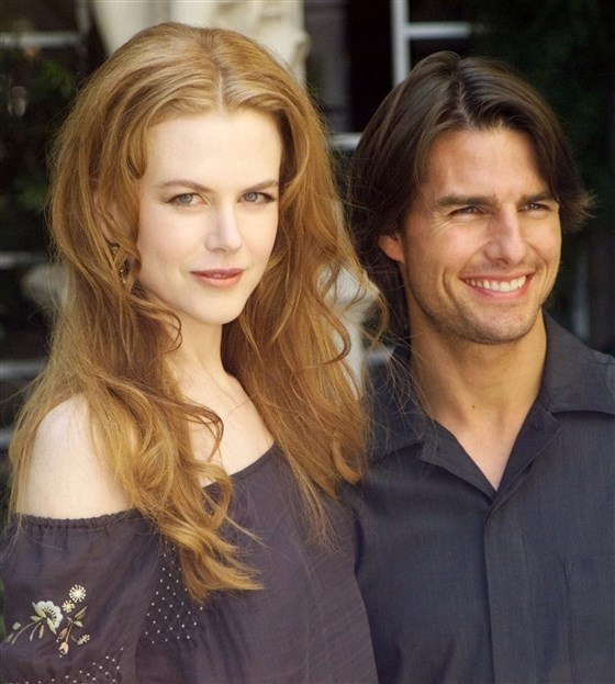 Nicole Kidman and Tom Cruise split in 2001 after eleven years together. *(Source: Getty)*