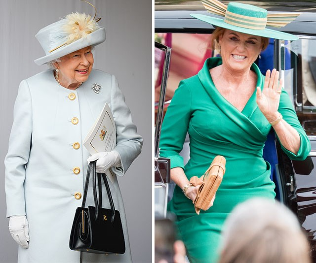 "Sarah Ferguson has thanked The Queen for making Princess Eugenie's wedding day ""so memorable.""  *(Images: Getty)*"