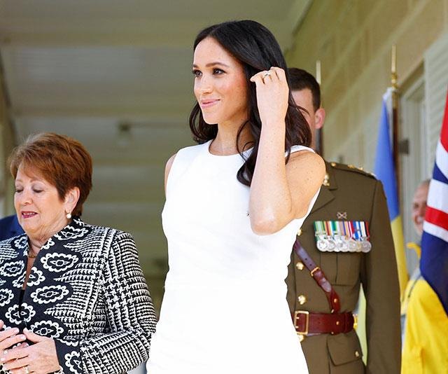Meghan's effortless style is revered by royal fans. *(Image: Getty Images)*