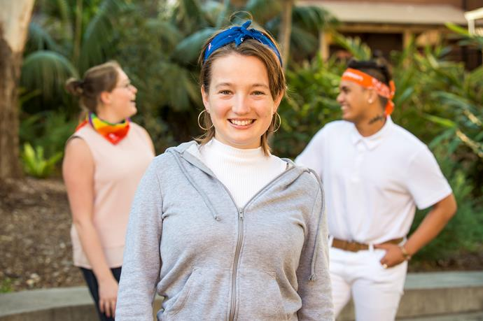 Maddy is a Youth Ambassador for *CanTeen* and *National Bandanna Day*. *(Source: Supplied)*