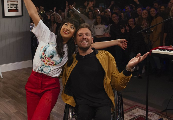 Triple J's Linda and Dylan will host new ABC show *The Set*.