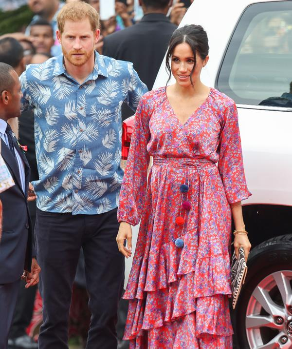"The royal word of the day is ""florals"". *(Image: Getty Images)*"