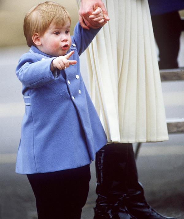 We'd like to think Harry was giving big brother William a stern talking to in this sweet snap! *(Image: Getty Images)*