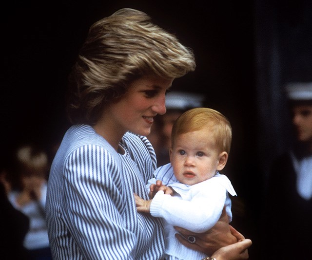 Diana was every bit the doting mum, and we can't blame her - we'd be a sucker for those blue eyes! *(Image: Getty Images)*