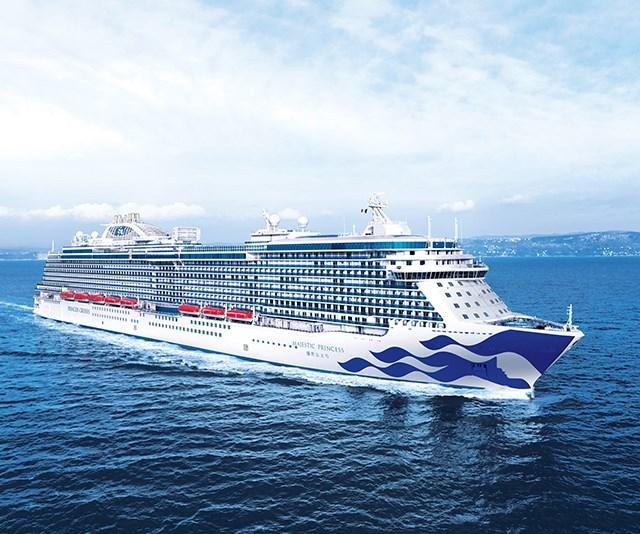 Princess Cruises flagship, Majestic Princess, ahead of its summer season in Australian waters