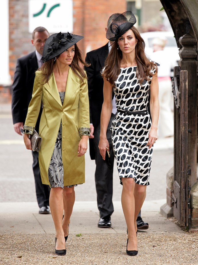 The sisters attended a friend's wedding in 2011 and showcased their trademark sophistication. *(Image: Getty Images)*