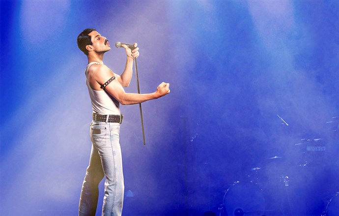 Rami is electric as the enigmatic performer.
