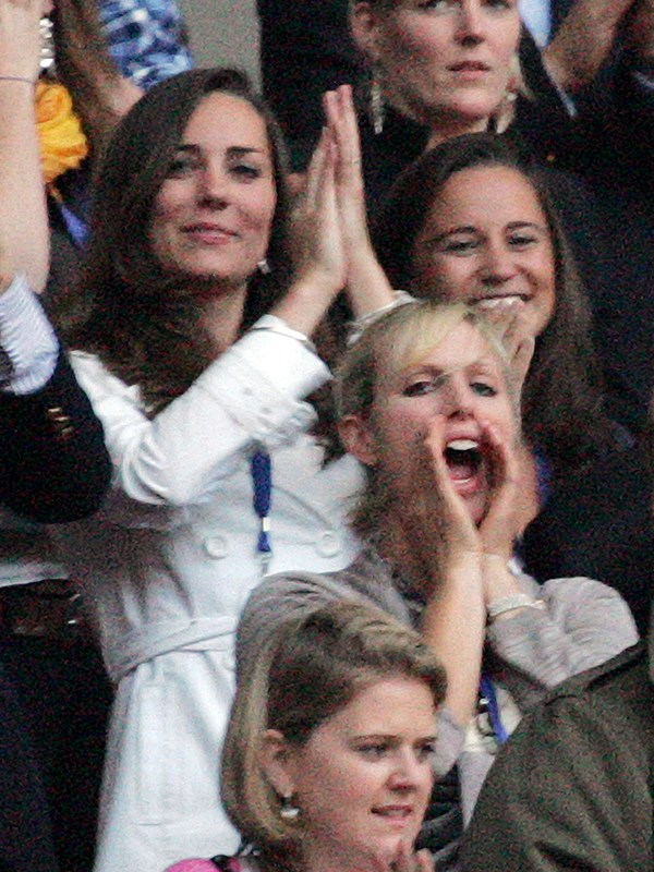 Pippa accompanied her sister at the Concert for Diana, though they sat two rows behind William and Harry. *(Image: Rex Features)*