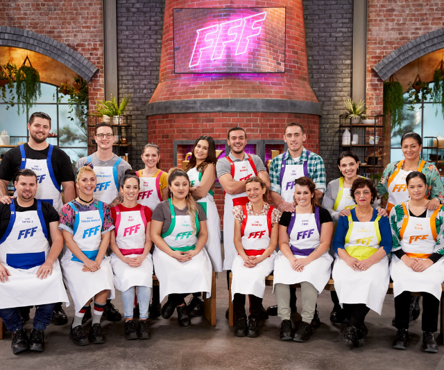 The contestants are bringing some next level home cooking this year. *(Image: Seven)*