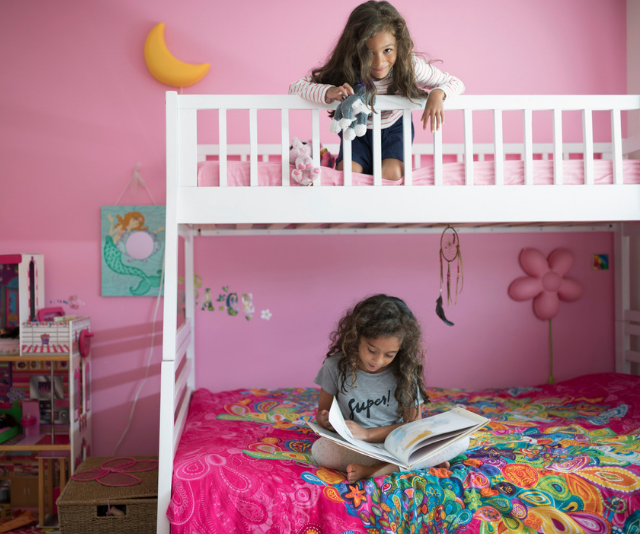 Bunk beds must not have any dangerous gaps that can trap a child's head or limbs.