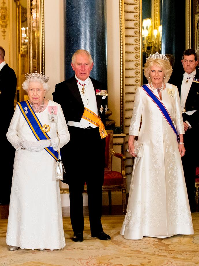Camilla is reportedly nervous about what will get back to the ears of The Queen. *(Image: Getty Images)*