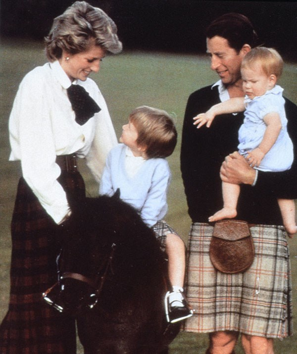 **He's just dad at the end of the day:** Prince of Wales, future King of England, heir to the throne... Prince Charles has many titles but being a father will always come first. *(Image: Getty)*
