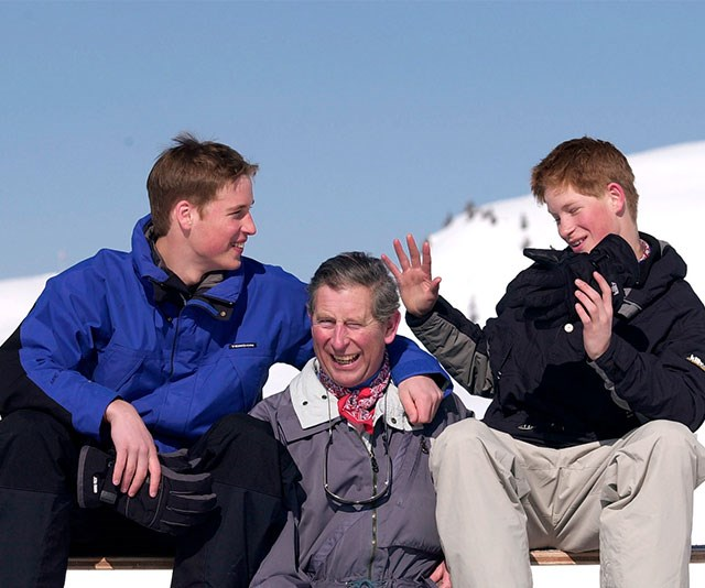 **A pillar of strength:** As the sole parent of two of the world's most famous boys, Prince Charles has been an incredible role model and father to Prince William and Harry and for that, the brothers are eternally grateful. *(Image: Getty)*