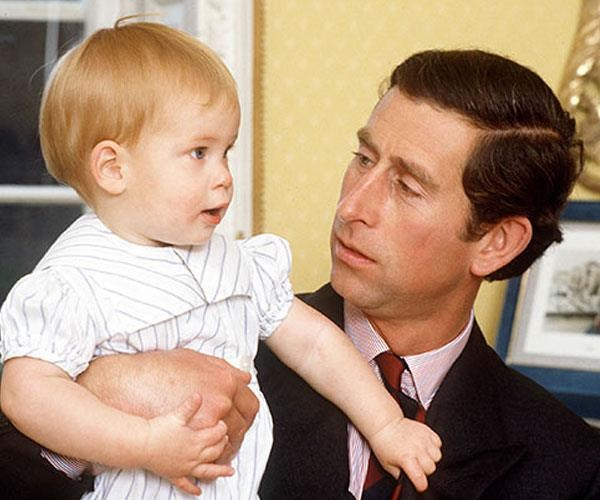 **A precious bond:** Harry and Charles share a tender moment. *(Image: Getty)*