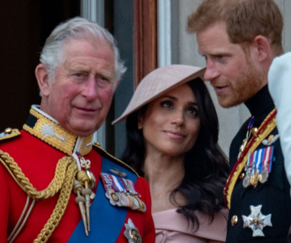 """**A new member of the family!** In fact, Charles is so delighted with his newest daughter-in-law, [he's reportedly nicknamed her """"Tungsten""""](https://www.nowtolove.com.au/lifestyle/weddings/prince-charles-meghan-markle-nickname-49249