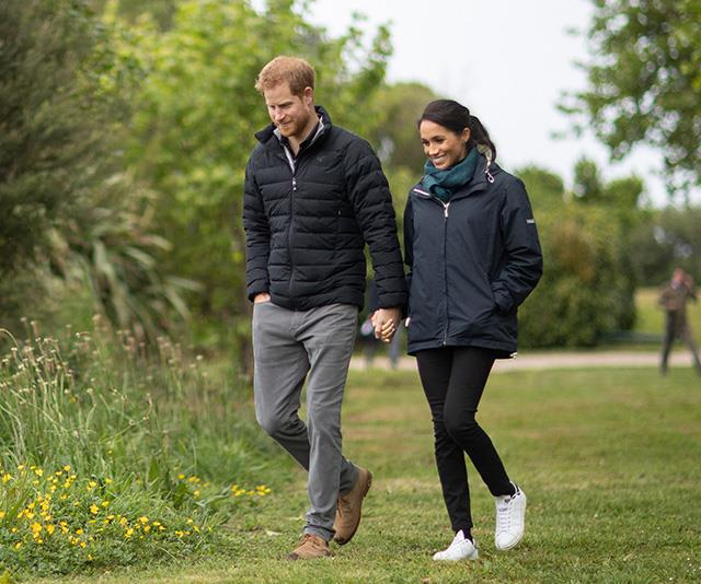 The Duke and Duchess of Sussex during their royal tour of New Zealand.