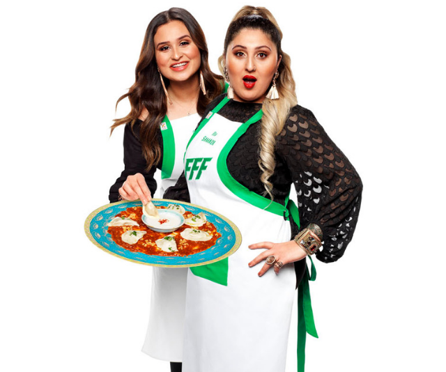Ria and Saffa know their way around the kitchen, and the other contestants should be worried. *(Image: Seven)*