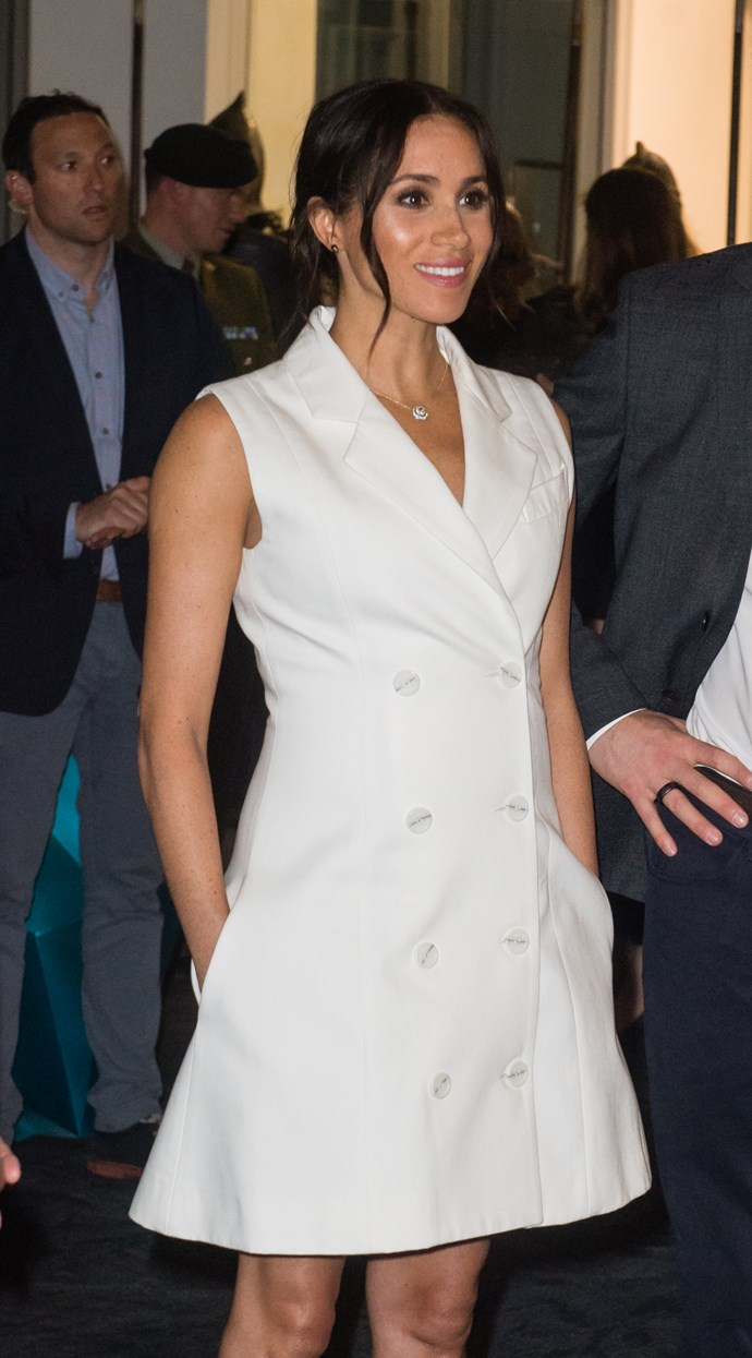 The stylish Duchess glowed in the New Zealand designer's frock. *(Image: Getty Images)*