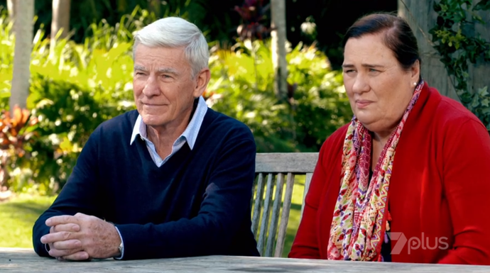 Terry and Margaret do not approve of Lily's progressive views.